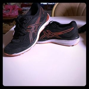 ASICS Black and Orange Athletics